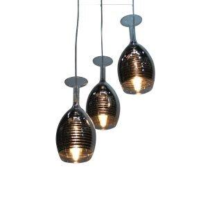 1068-3 Azora Pendant Light