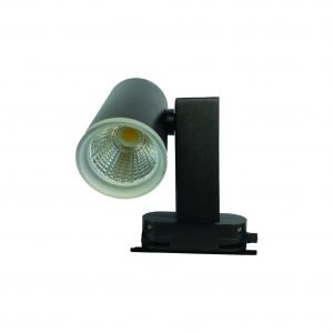 LP 6003 – ( 15W ) BK LED Track Holder Warm White Only