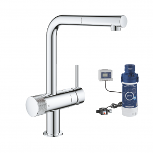 31721000 + 40438001 Grohe Minta Pull-Out Duo Filter Faucet Set