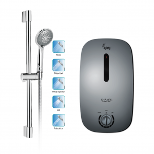 Champs Sylphy with Hand Shower - Matt Grey
