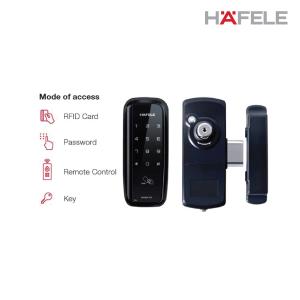 HAFELE Digital Metal Gate Lock ER4600 ( Art No : 912.05.721 )