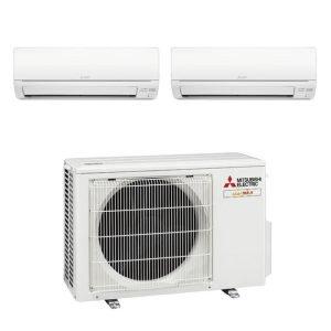 MITSUBISHI SYSTEM 2 Aircon MXY-2G20VA2+2xMSXY-FN10VE