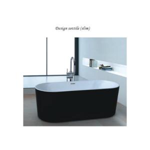 Nobel NST-012-BW Free Standing Bathtub ( Slim )