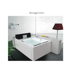 Nobel NST-039-SPA Massage Bathtub