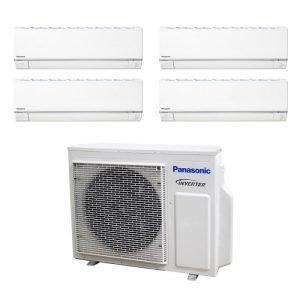 Panasonic SYSTEM 4 Aircon CU-4XS30UBZ+3x CS-MXS9UKZ+CS-MXS24UKZ