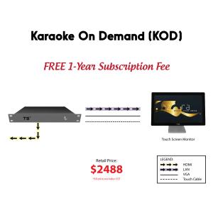 Kamoga Karaoke On Demand (KOD)